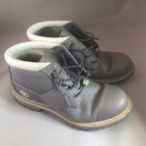 Timberland Gray Chaka Boots
